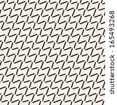 seamless pattern with zigzag... | Shutterstock .eps vector #165493268