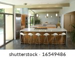 a modern kitchen that has been... | Shutterstock . vector #16549486