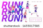 runners group in motion....   Shutterstock .eps vector #1655017585