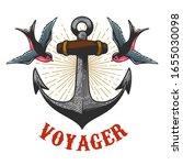 illustration of vintage anchor...   Shutterstock .eps vector #1655030098