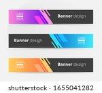 vector abstract design banner...   Shutterstock .eps vector #1655041282