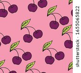 vector seamless pattern with... | Shutterstock .eps vector #1655065822