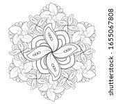 coloring page. hand drawn...   Shutterstock .eps vector #1655067808
