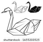 vector monochrome image of... | Shutterstock .eps vector #1655203525
