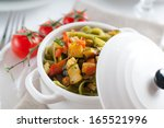 Dietary Pasta With Spinach ...