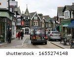 A Street Scene In Windermere...