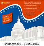 united states capitol building... | Shutterstock .eps vector #165531062
