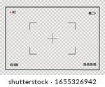 focusing the camera screen.... | Shutterstock .eps vector #1655326942