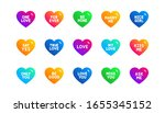 sweetheart for valentines day ...   Shutterstock .eps vector #1655345152