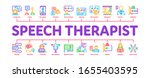 speech therapist help minimal... | Shutterstock .eps vector #1655403595