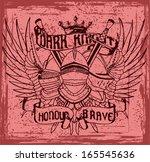 knight print vector   Shutterstock .eps vector #165545636