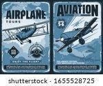 aviation show  custom airplanes ... | Shutterstock .eps vector #1655528725