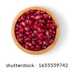 Pomegranate Seeds In A Separat...
