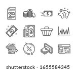 Set Of Finance Icons  Such As...