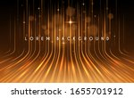 abstract gold light lines... | Shutterstock .eps vector #1655701912