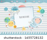 holiday card design. baby... | Shutterstock .eps vector #1655728132