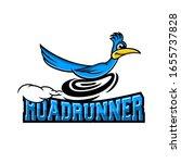 Modern Roadrunner Bird Logo....