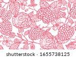 elegant seamless pattern with...   Shutterstock .eps vector #1655738125
