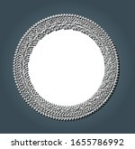 white and grey abstract modern... | Shutterstock .eps vector #1655786992