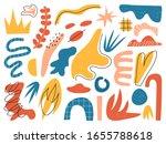 big set of hand drawn various...   Shutterstock .eps vector #1655788618