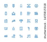 editable 25 tank icons for web... | Shutterstock .eps vector #1655815318