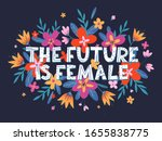 the future is female vector... | Shutterstock .eps vector #1655838775