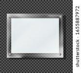 blank glass board vector... | Shutterstock .eps vector #1655887972