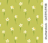 Spring Vector Pattern With...