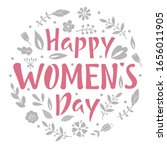 Happy Women's Day Postcard Or...