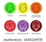 icon of aqi  or air quality... | Shutterstock .eps vector #1656124978