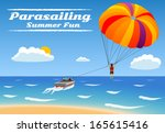Parasailing   Summer Kiting...