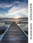Sunset Across Lake Macquarie...