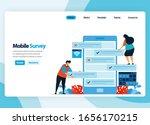 landing page design for online...