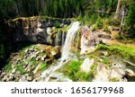 Paulina Falls Cascades Over Th...