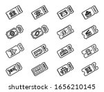 collection of ticket to vip ...   Shutterstock .eps vector #1656210145