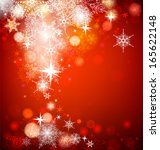 christmas background with... | Shutterstock . vector #165622148