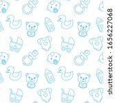Baby Shower Seamless Pattern...