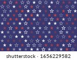 4th of july stars and stripes...   Shutterstock .eps vector #1656229582