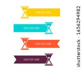 multi colored ribbons with...   Shutterstock .eps vector #1656294982