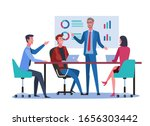 business meeting. business...   Shutterstock .eps vector #1656303442