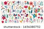 beautiful romantic flower... | Shutterstock .eps vector #1656380752