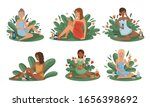 women using and testing natural ...   Shutterstock .eps vector #1656398692