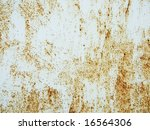 rusty metallic surface great as ... | Shutterstock . vector #16564306