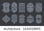 vintage set retro cards....   Shutterstock .eps vector #1656528805