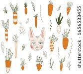 big set of various childish... | Shutterstock . vector #1656533455