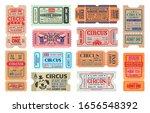 circus carnival show vector... | Shutterstock .eps vector #1656548392