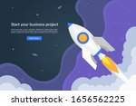 business start up concept with... | Shutterstock .eps vector #1656562225