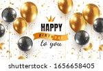 vector happy birthday...   Shutterstock .eps vector #1656658405