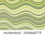 laconic curve wave stripes warp ... | Shutterstock .eps vector #1656666775