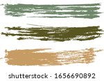 rainbow different brush strokes ... | Shutterstock .eps vector #1656690892